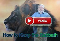 Yeshua Messiah teaches how to keep the Sabbath.
