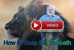 Yeshua Messiah teaches how to keep the Sabbath.