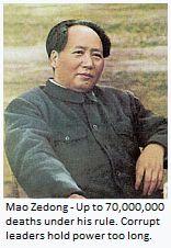 70,000,000 million died under the Mao regime.