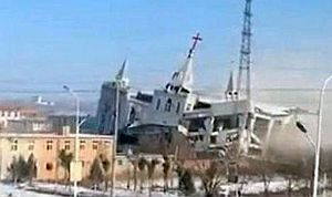 Churches torn down in China