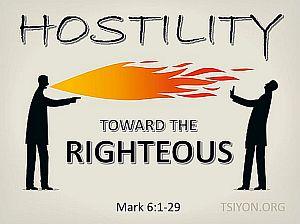 Handle hostility!
