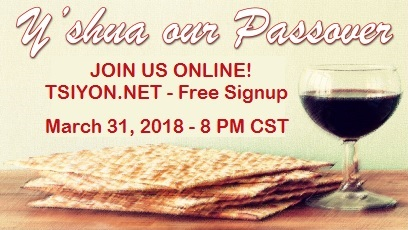 Join us for Passover!