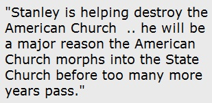 The American Church is being destroyed.