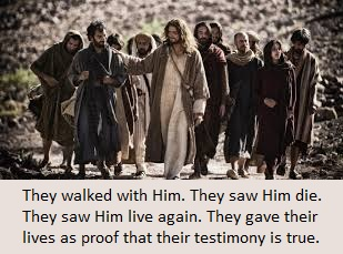 They are true witnesses.