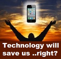 No. Technolgy can't save us.