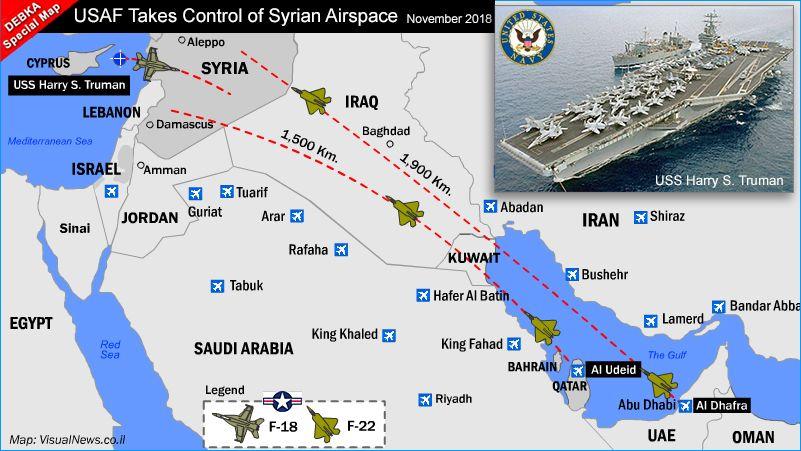 ASAF in Syrian skies.
