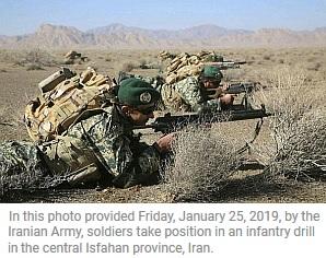Iran military readiness.