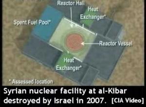 Syrian nuclear facility at al-Kibar