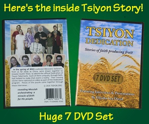 7 DVD Set - Tsiyon Dedication