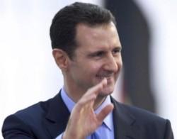 Syria's President Bashar Assad (photo credit: AP Photo/SANA, File)