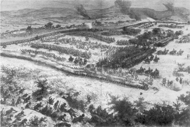 The British defeated the Zulus using the Square