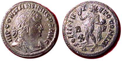 ConstinetineSol Invictus coin
