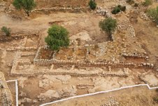 Palace and storehouse complex of King David