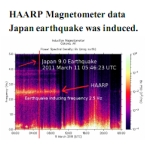 HAARP Japan earthquake data