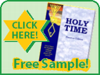 Holy Time - Free Sample