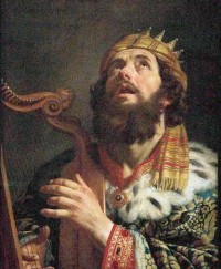 King David receives revelation