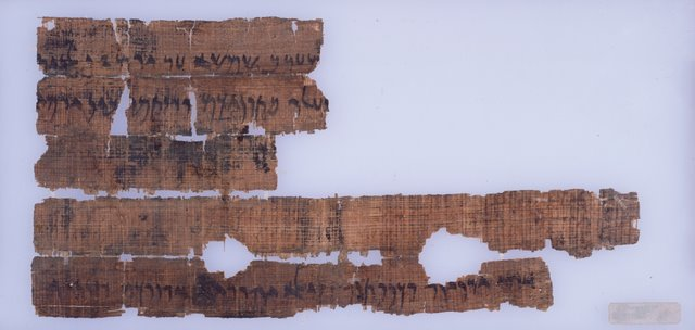 Passover Papyrus Back