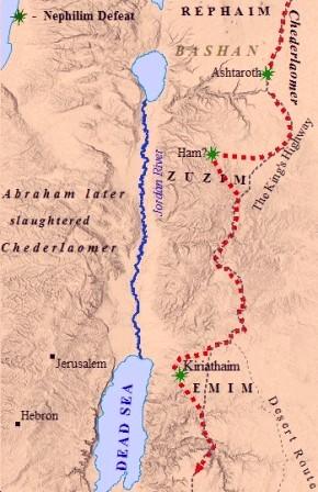 Rephaim Map