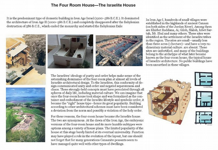 The Israelite Four Bedroom House