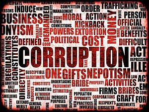 Corruption of the elite
