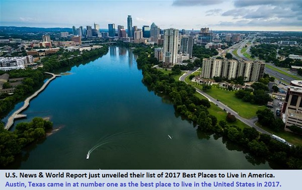 Austin - best place to live in USA