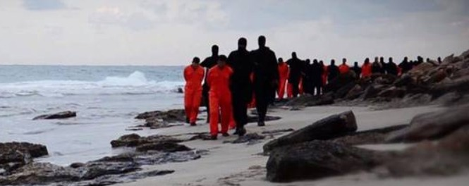 ISIS leads Coptic Christians to their death