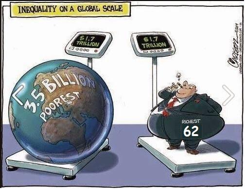 Global Greed on a Massive Scale