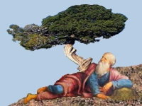 Elijah under the Juniper tree