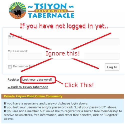 Get your new password.