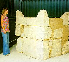 Four-horned altar at Beersheba.