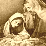Mary, Joseph and Child
