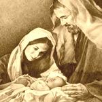 Mary, Joseph and Child