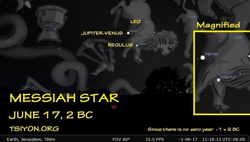 Messiah star - 2 BC