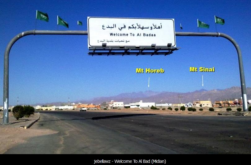 Midian in Arabia