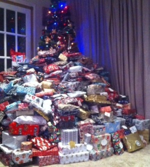 That's a lot of gifts!