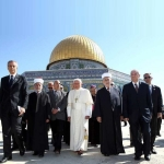Pope Tours Temple Mount with Islamic Leaders