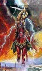 The Red Horse Rider of Revelation