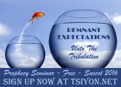 Remnant Expectations Prophecy Seminar - 2016