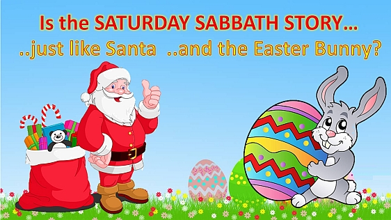 Is Saturday the Sabbath?
