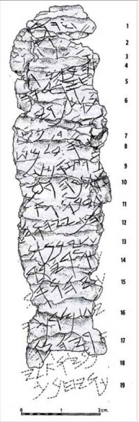 Silver scroll 1