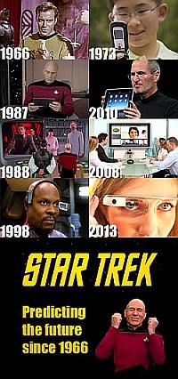 Star Trek - Not a hope to believe in.