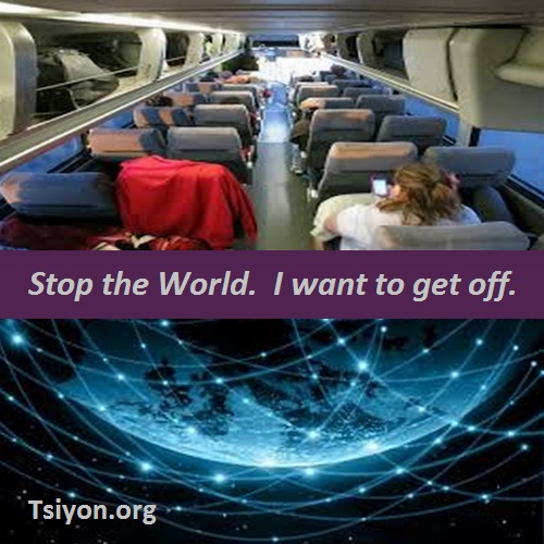 Stop the world - I want to get off.