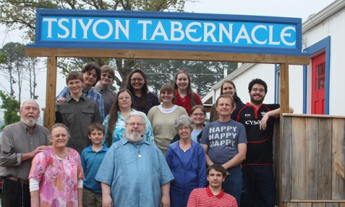 Some of our Tsiyon Volunteers