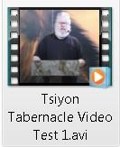 Tsiyon test video on the Rapture
