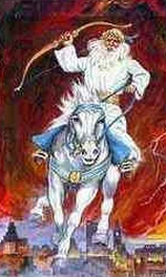 The White Horse Rider of Revelation
