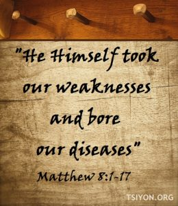 He bore our diseases.