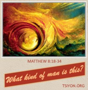 Matthew 8 - What kind of man is this?