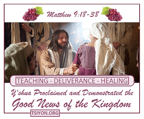 He demonstrated the Kingdom!