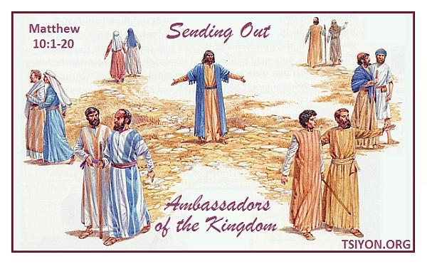 Sending out ambassadors