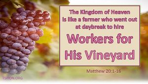 Workers for His Vineyard